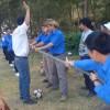 Thăm địa đạo Đám tóa, giao lưu chi đoàn xã Bình Châu - năm 2012