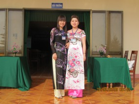 Tham gia hội nghị tuyển sinh - năm 2012