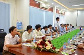 Chào đón Viện phát triển kỹ năng nghề quốc tế Chiang Saen - Thái Lan
