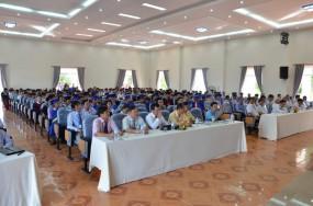 Lễ phát bằng tốt nghiệp khóa 2013 - 2016 và ngày hội việc làm 2016
